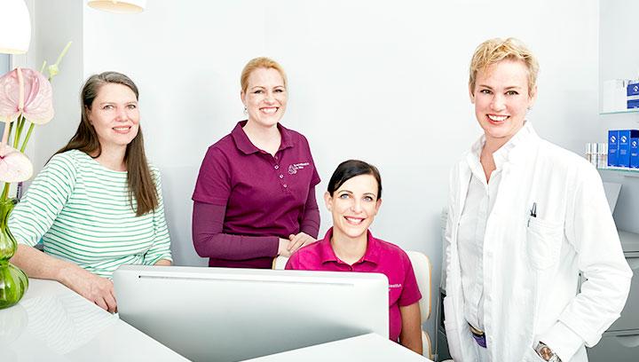 Dr. med. Susanna Meier und ihr Team