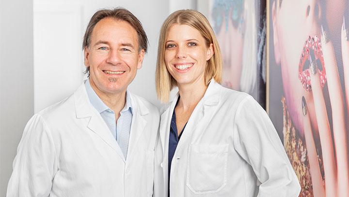 Dr. med. Werner Herzig und Dr. med. Rebecca Naumann | ICE AESTHETIC