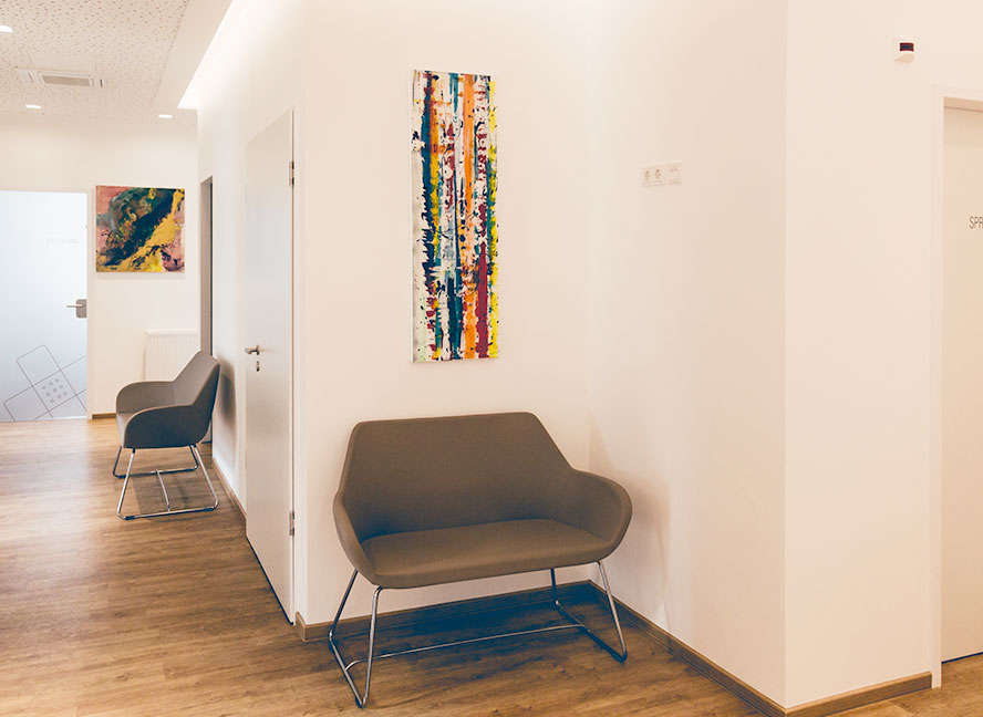 ICE AESTHETIC® Ahlen Wartezimmer Dr. Straub & Ina Hass-Kanke