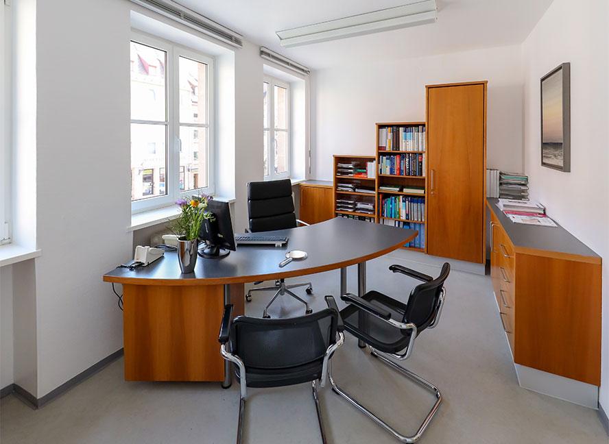Besprechungsraum Dr. Schmitz Nürnberg