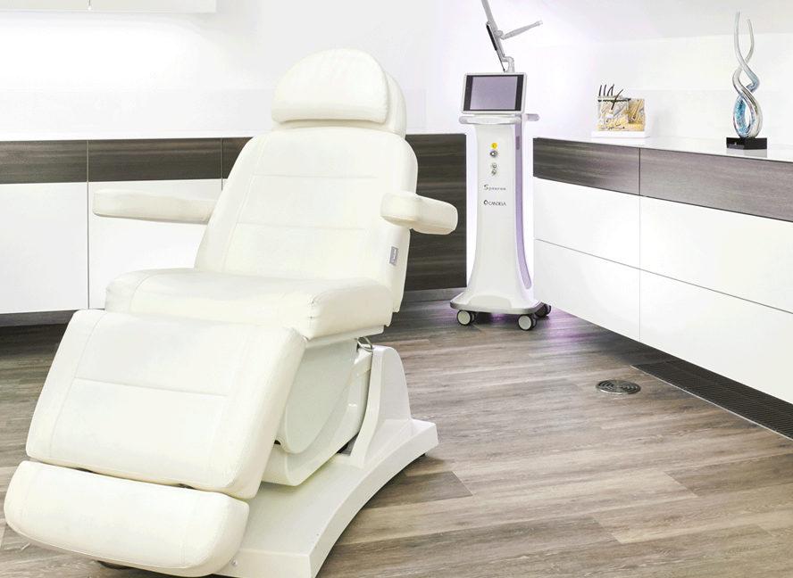 FIRSTEMEDICA Hamburg Behandlungsraum | ICE AESTHETIC
