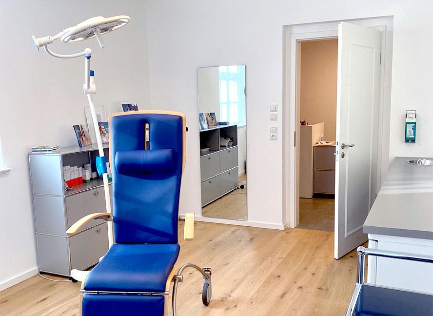 Praxis Königspark Behandlungsraum | ICE AESTHETIC